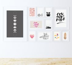 33 Totally Free Modern Art Prints // Fox + Hazel