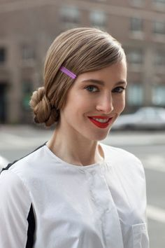 DIY This Chic Chignon In 6 Easy Steps