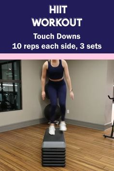 HIIT exercises include short yet comprehensive exercise sessions, which is why it is extremely essential for the pre-workout diet to be high in energy. Hiit Workout Videos, Hiit Workouts At Gym, Hiit Workouts With Weights, Hiit Workouts For Beginners, Cardio Hitt Workout, Extreme Workouts, Women Full Body Workout, Full Body Hiit Workout, Step Workout