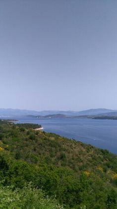 North east coast Corfu