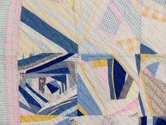 "Summer Quilt Folk Art Sting 1920 64 ""X72"" | eBay"