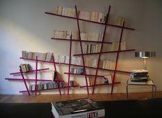 Bibliothèque Mikado / Large - L 215 x H 220 cm - Compagnie