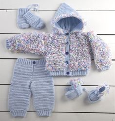 Picture of Li'l Darlin' Layette Crochet Pattern