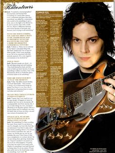 Jack White talks about his Gretsch copper top Triple Jet... {{{man, I love that guitar!!!}}}