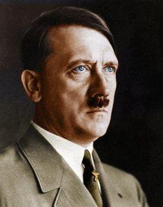 Adolf Hitler in color