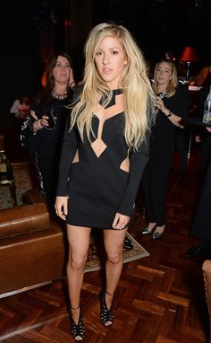 Ellie Goulding at the Brit Awards afterparty.