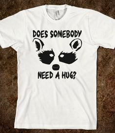 Me. Raccoon Hug @Skreened Tees Tees