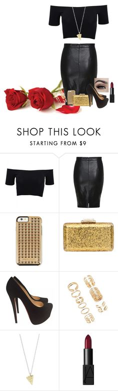 """""""Classy"""" by katiecutie31 on Polyvore featuring American Apparel, Rebecca Minkoff, KOTUR, Christian Louboutin, Forever 21, NARS Cosmetics, women's clothing, women, female and woman"""