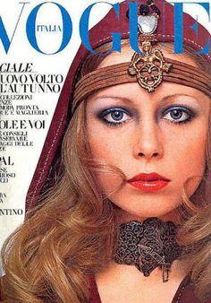 Vintage Vogue magazine covers - mylusciouslife.com - Vintage Vogue Italia July 1969 - Pattie Boyd.jpg