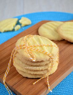 Glutenvrije en lactosevrije koekjes - Laura's Bakery Misschien ook wel eivrij te maken door ei-vervanger te gebruiken ipv eidooier