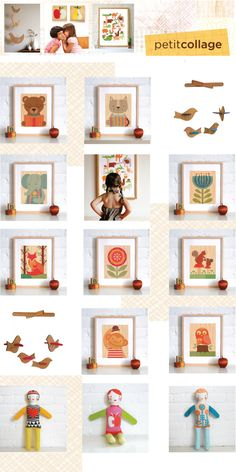 Oh Wooden It Be Nice: Adorn Your Walls With Petit Collage