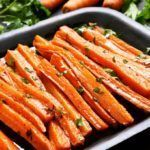 Bluff Cove Olive Oil Co.: Sweet and Spicy Carrots Baked Carrots, Roasted Carrots, Comidas Light, Carrot Fries, Healthy Holiday Recipes, Holiday Foods, Curry Spices, Carrot Recipes, Antipasto