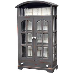 Nantucket Kitchen Armoire *many paint options available | CottageDecor.net