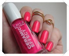 Layla Ceramic Effect CE 110 Dark Pink Fluo