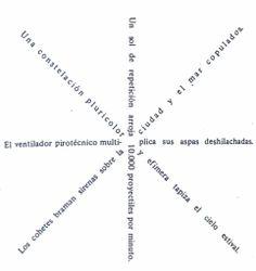 """""""Girándula"""" (1923) de Guillermo de Torre. #Poesiavisual"""
