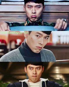 Jealous Jeong-Hyeok in Crash Landing on You Hyun Bin, Korean Celebrities, Korean Actors, Shu Qi, Chines Drama, Best Kdrama, Netflix, Portia De Rossi, W Two Worlds