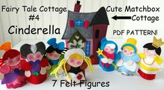 FAIRY TALE MATCHBOX Cottage 4 Cinderella Pdf by LindyJDesign