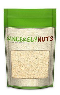 Sincerely Nuts Hulled Sesame Seeds - One (1) Lb. Bag - De... https://smile.amazon.com/dp/B00KY3DJK6/ref=cm_sw_r_pi_dp_x_a--Ryb3TXR0Q6