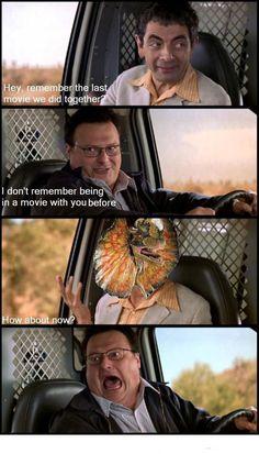 Jurassic Park car dinosaur