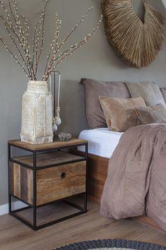 Taupe Bedroom, Cosy Bedroom, Master Bedroom Design, Bedroom Inspo, Bedroom Decor, Romantic Room, Room Inspiration, Bedroom Furniture, Home Decor
