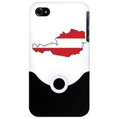 Flag Map of Austria iPhone 4 Slider Case Iphone 4, Sliders, Austria, Flag, Phone Cases, Products, Science, Flags, Gadget