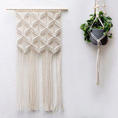 Artist Rianne Zuijderduin's dreamy macramé creations blur the line between bohemian simplicity and polished elegance. From large-scale wall hangings to petite plant holders, the Netherlands-based artist presents a contemporary twist on the classic craft. Zuijderduin's distinctively geometric macramé collection is as diverse as it is beautiful. Unlike knit or woven textiles, macramé is fabricated by meticulously knotting cords into intricate patterns, resulting in exquisitely detailed…