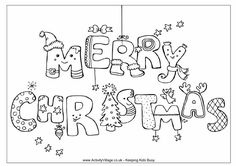 Free Christmas Coloring Sheets For Adults | Fun Coloring