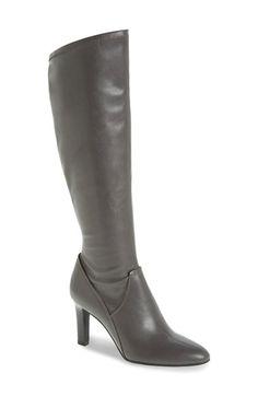 Franco Sarto 'Stampeed' Stretch Tall Boot (Women) available at #Nordstrom