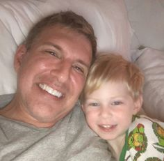 Todd with grandson Jackson