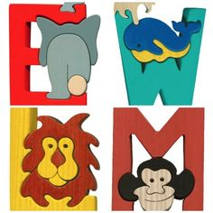 Montessori Waldorf letters puzzles on Etsy