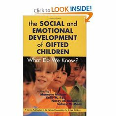 Social and Emotional Development of Gifted Children: What Do We Know? Social Emotional Development, Child Development, Gifted Education, Gifted Kids, Differentiation, Kids Gifts, Reading Lists, My Life, Children