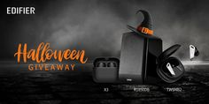 Noise Cancelling Earbuds, Capital One, Carbon Black, Enter To Win, Free Stuff, Halloween Treats, Speakers, Giveaway, Arch