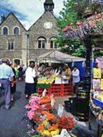 Bury St. Edmunds, England Market