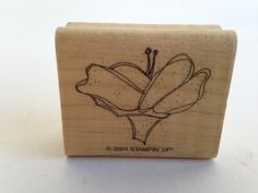 Abstract Flower Vintage Rubber Stamp - Card Making - Crafts   161012C by SirStampinton