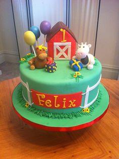 Baby's Barn Theme First Birthday