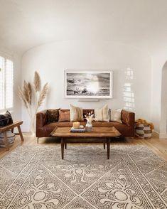 Boho Living Room, Home And Living, Living Room Decor, Earthy Living Room, Bedroom Decor, Beige Living Rooms, Living Walls, Bohemian Living, Bedroom Ideas