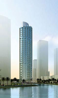 The Mansion Tower, Dubai by Arthur Smith + Gordon Gill Architects :: 60 floors, hieght 227m