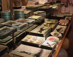 John Derian decoupage plates