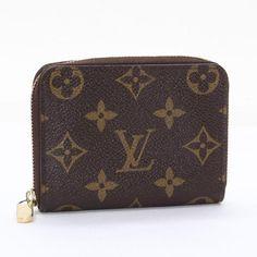 Louis Vuitton Zippy Coin Purs Monogram Wallets Brown Canvas M60067