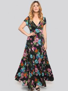 Flower Power Maxi Dress - Gypsy Warrior