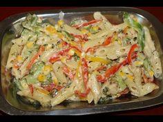 Egg noodles how to make egg vegetable noodles street food pasta in white sauce vegetable pasta in white sauce veg pasta recipe forumfinder Gallery