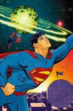 Child of Kryptonians, Hero of Earth