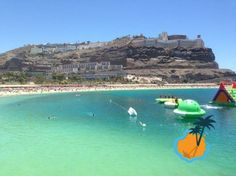 Amadores Beach in Puerto Rico, #GranCanaria Spain