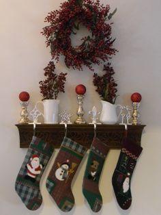 Pretty Shelf for Christmas