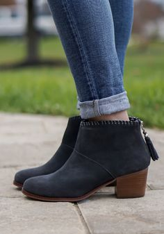 A new way to elevate your look: introducing the Leila Bootie.