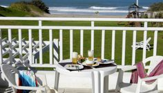 Sobre la playa en Carilo Table Decorations, Furniture, Home Decor, Ocean Views, Forests, Beach, Interior Design, Home Interior Design, Arredamento