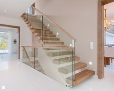 Floating Stair Made Of Patinated Oak Finished With Hardwax Oil Barade Gl Wooden Handrail Private Residential Project Designed By