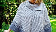 Free Crochet Pattern: Fatima Poncho Crochet Cape, Crochet Poncho Patterns, Crochet Shawl, Free Crochet, Crochet Sweaters, Crochet Turtle, Star Stitch, Free Pattern, Paradise
