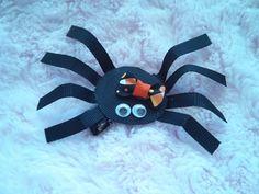 Fall / Halloween Spider Hair Clip / Clippie by KinsMomsCreations