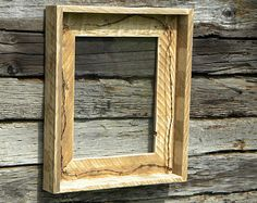 Photo Frame, Rustic Home Decor, Reclaimed Pallet Wood, Wall Hanging, Pallet Frames, Barn Wood Picture Frames, Picture Frame Decor, Rustic Frames, Large Picture Frames, Picture On Wood, Reclaimed Wood Frames, Wood Pallets, Pallet Wood